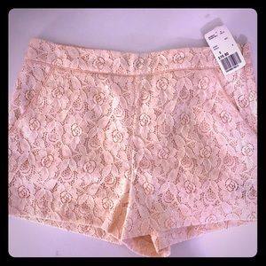 Flower Lace shorts from Forever XXI